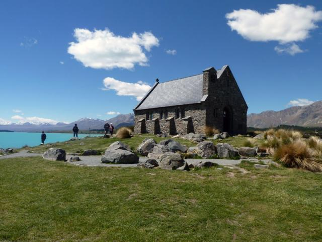 Lake Tekapo Nz Frenzy Guidebook New Zealand: lake tekapo motor camp