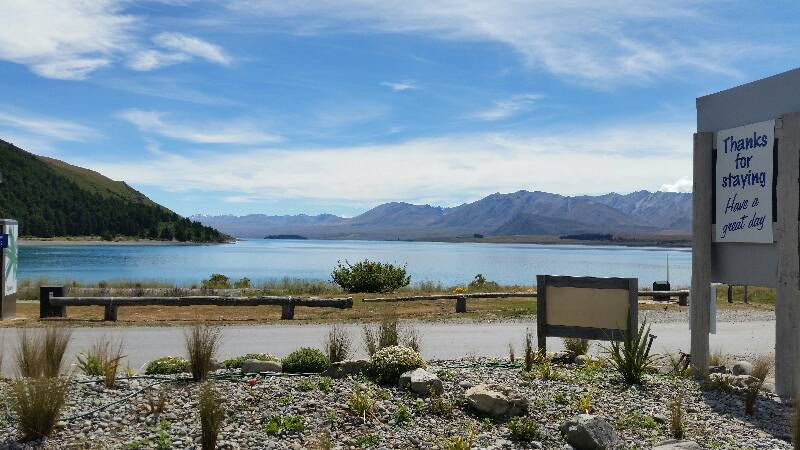 Beatsmilking photo 2014 12 22 11 39 motor camps for Lake tekapo motor camp