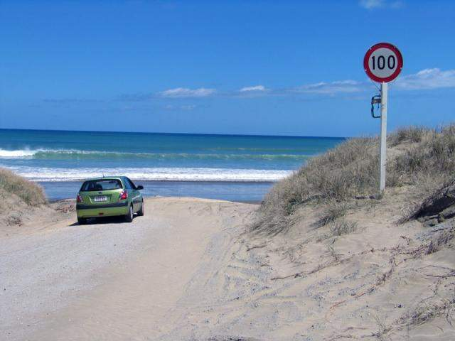Legendary 66-Mile Beach Drive
