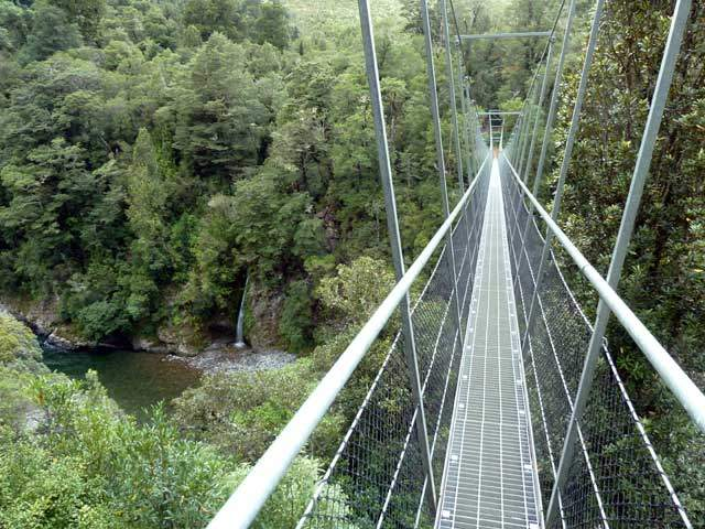 NZ's Longest Swing Bridge