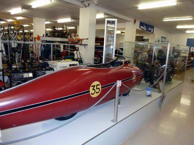 "Home To Burt Munro, ""The World's Fastest Indian"""